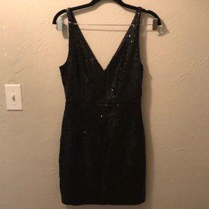 Black sequin party dress!